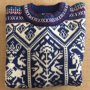 Dale of Norway Lillehammer Ski Wool Sweater