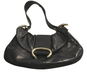 Francesco Biasia All Leather Designer Shoulder Bag