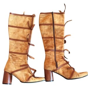 Todd Oldham Tan Boots