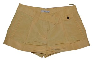 Prada Silk Mini/Short Shorts yellow