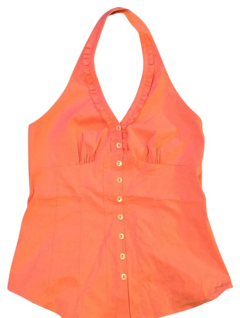 Item - Coral Halter Top Size 4 (S)