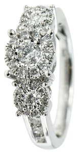 Diamond Cluster Ladies Ring