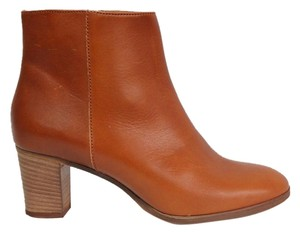 J.Crew Leather Ankle Bootie Boot Brown Boots