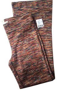 Urban Outfitters Pull On Knit Pant No Zip Boot Cut Pants Multi-Color