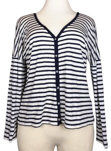 Chico's Stripes Cardigan