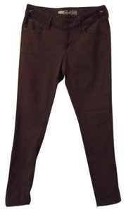 Old Navy Stretchy Leggings Skinny Skinny Pants Maroon