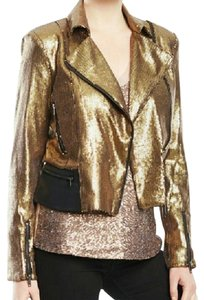 W118 by Walter Baker Night Out Sequin Motorcycle Jacket