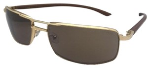 Fred Lunettes New FRED LUNETTES Sunglasses ELLESMERE SUN 206 C1 Gold Aviator w/ Wood