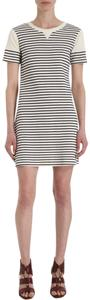 Theory short dress IVORY NAVY Teju B Striped on Tradesy
