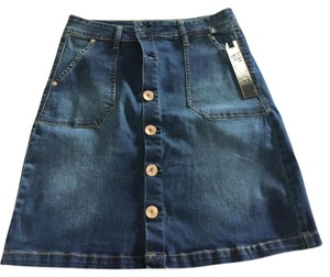 Kensie Skirt Denim