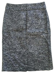 J.Crew Shimmery Metallic Pencil Python Skirt