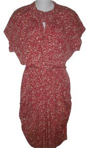 Norma Kamali short dress Red Vintage on Tradesy