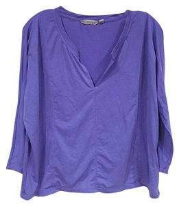 Athleta T Shirt Purple, Blue