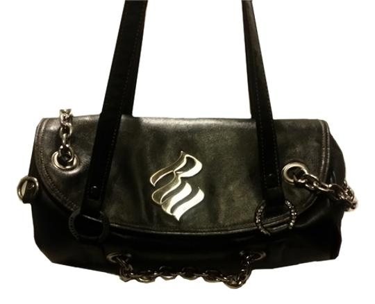 Preload https://item1.tradesy.com/images/rocawear-black-leather-shoulder-bag-2008195-0-0.jpg?width=440&height=440