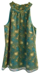 Liberty of London for Target Top Teal Green Blue