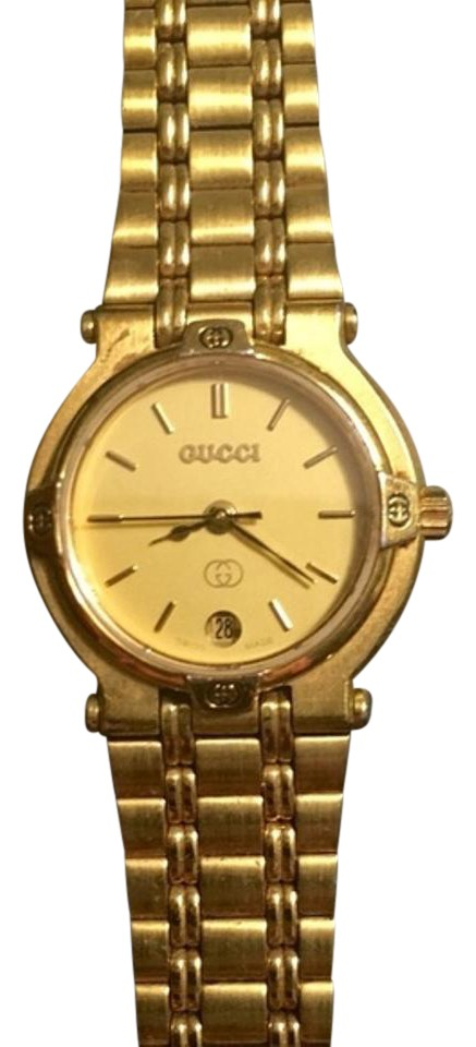 f687f8d6ab7 Gucci Authentic GUCCI 9200L Gold Plated Ladies Watch Image 0 ...
