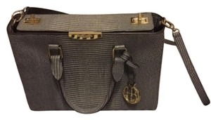 Henri Bendel Satchel in Grey