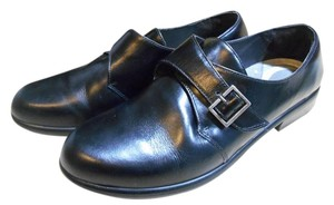 Naot Leather Black Flats