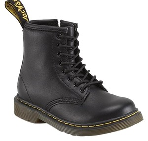 Dr. Martens Toddler Black Leather Boots