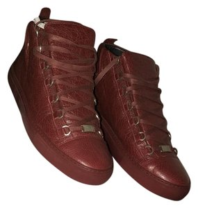 Balenciaga Burgundy Athletic