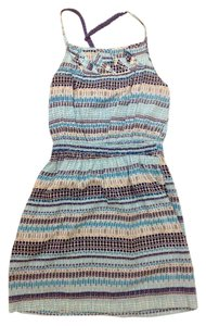 BCBGeneration short dress blue Xs Striped on Tradesy