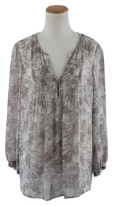 Joie Floral Top Taupe