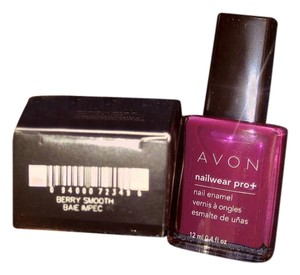 Avon Nail Pro Nail Enamel - Berry Smooth (Pink) - New w/Box!