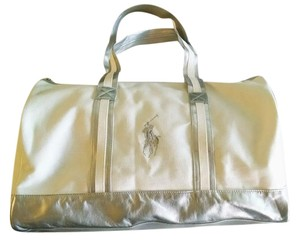 Ralph Lauren White/Silver Travel Bag