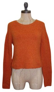 BCBGMAXAZRIA Crop Crewneck Knit Bcbg Sweater