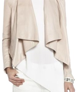 BCBGMAXAZRIA Blush pink Leather Jacket