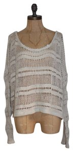 Anthropologie Knit Open Knit Willow & Clay Crop Sweater