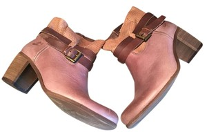 Felmini Bootie Leather Buckle browns Boots