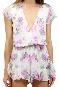 Southern Girl Fashion Floral Romper Lioness Dress