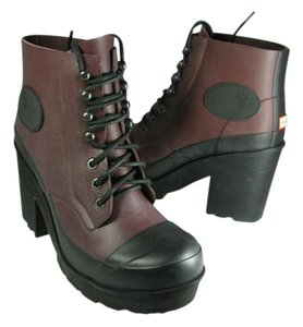 Hunter wine brown/ black Boots