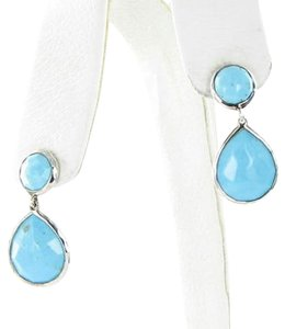 Ippolita Ippolita Rock Candy Snowman Earrings Turquoise Sterling Silver 925