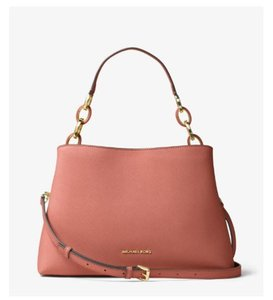 Michael Kors Satchel Ani Tote in antique rose