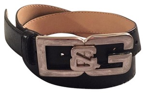 Dolce&Gabbana D&G Leather Belt