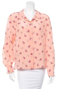 Miu Miu Button Down Shirt Salmon pink