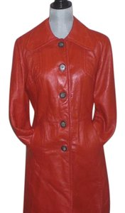 MONTREAL CANADIAN LEATHER RED Leather Jacket
