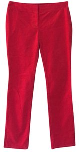 Ann Taylor LOFT Skinny Pants Red