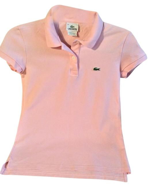 Lacoste Easy Care T Shirt Pale pink