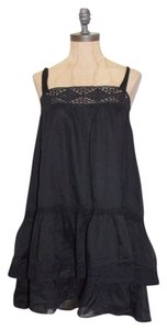 Karta short dress Black Babydoll Flare on Tradesy