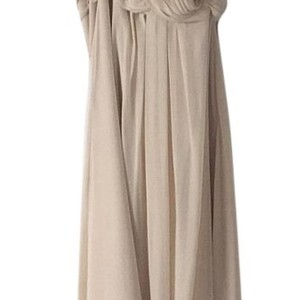 Bill Levkoff Beige Dress