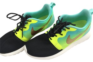 Nike Black Gold Neon Volt Athletic