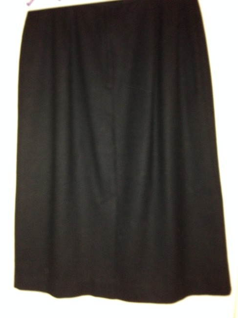 Briggs Wool Made In Usa Skirt Black Image 1
