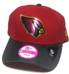 New Era Arizona Cardinals New Era Women Ladies Gold Collection NFL Red Hat Cap