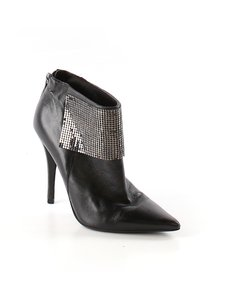 Guess Leather Holiday Night Out Designer Black Boots