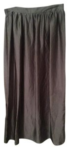 Mossimo Supply Co. Maxi Skirt Silvery Green