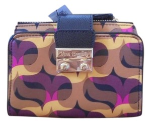 Vera Bradley Vera Bradley Modern Lights with Black Pushlock Wallet NWT
