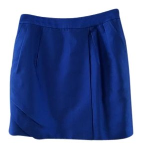 Reiss Mini Skirt Royal Blue